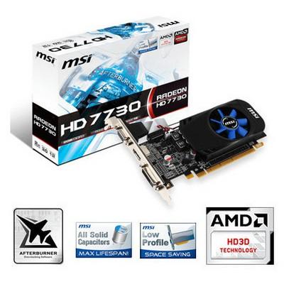 MSI Radeon R7730-2gd3/lp - 2 Gb Ddr3 Ekran Kartı