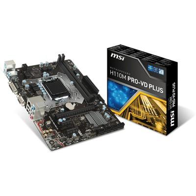 MSI H110M Pro-VD Plus Intel Anakart