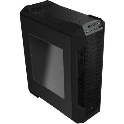 Aerocool LS5200 Gaming Kasa - Siyah (AE-LS5200-BLK)