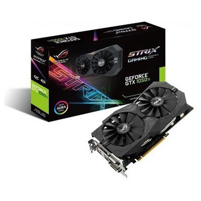 Asus ROG Strix GeForce GTX 1050 Ti OC 4G Ekran Kartı