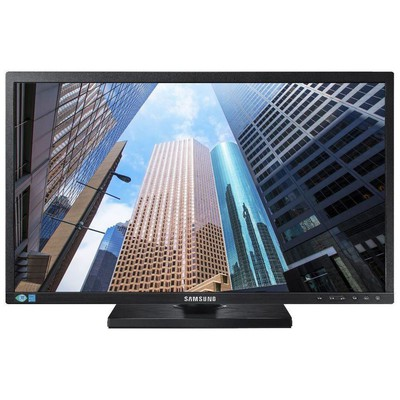 "Samsung 21.5"" Full HD TN Monitör - LS22E45KMSV"
