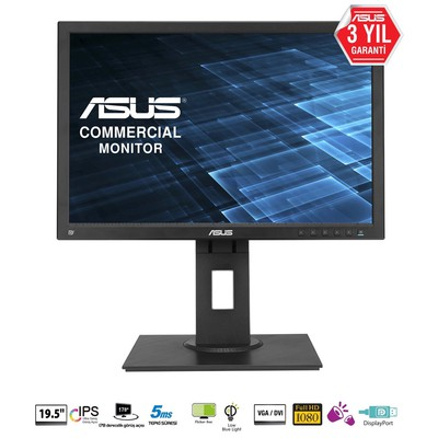 "Asus BE209QLB 19.5"" LED Monitör"