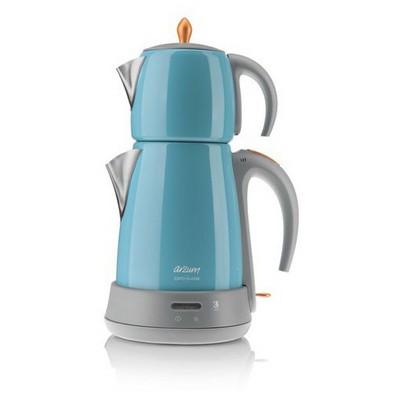 Arzum Ar 3019 Mavi Çaycı Klasik Çay Makinesi
