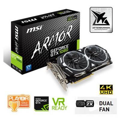 MSI Geforce GTX 1080 Armor OC 8G Ekran Kartı