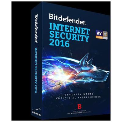 Bdefender 5949958006946 Internet Security 2016 – 3 Kullanıcı Güvenlik Yazılımı