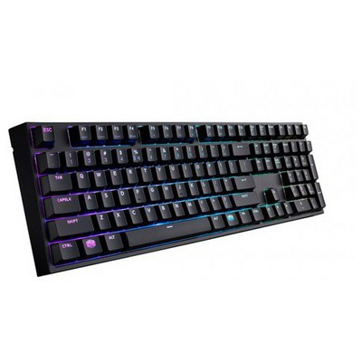 Cooler Master Sgk-6020-kkcr1-tu Cm Masterkeys Pro L Rgb Led Mekanik Cherry Mx Red Tr