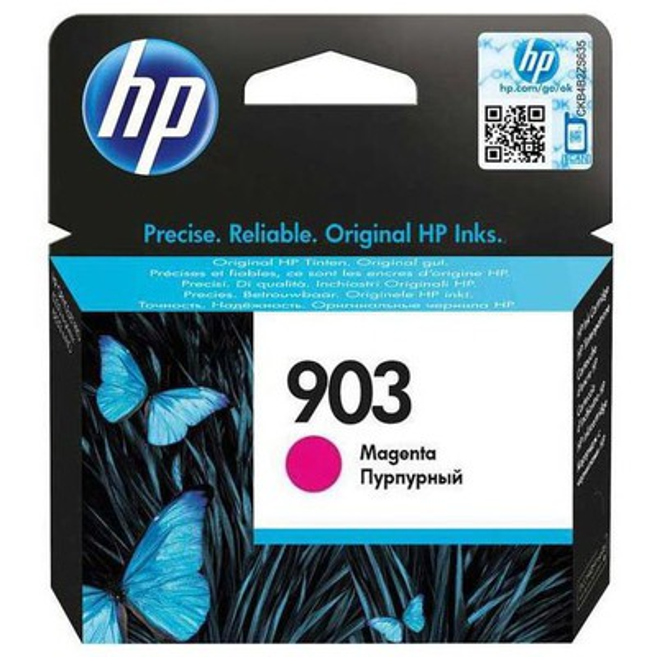 HP T6l91ae Magenta Mürekkep  (903) Kartuş
