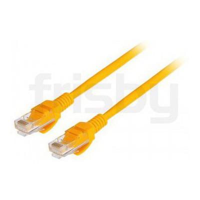Frisby Fa-c612y Cat-6e Utp Patch Kablo 60cm Sarı USB Kablolar