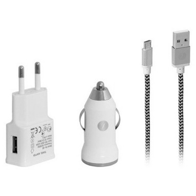 Frisby Fa-7540mu Androıd Seyahat & Araç Şarj Cihazı & Data Kablosu (micro Usb) Araç Aksesuarları