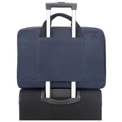 """Samsonite 16n-01-002 16n-01-002 15.6"""" Qibyte Notebook Çantası Mavi Laptop Çantası"""