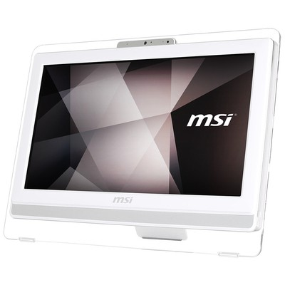 MSI Aıo Pro 20et 4bw-045xeu 19.5 Hd+(1600x900) Multı-touch Celeron N3160 4g 1tb Dos Dvd Beyaz-beyaz-beyaz All in One PC