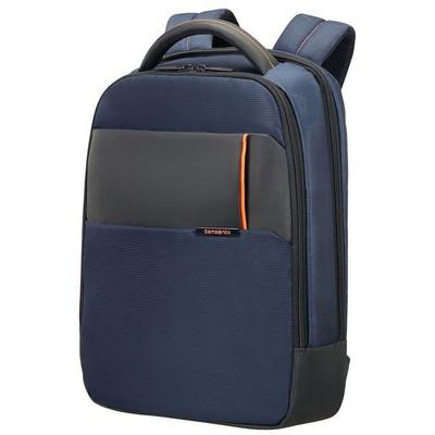 """Samsonite 16n-01-004 16n-01-004 14.1"""" Qibyte Notebook Sırt Çantası Mavi Laptop Çantası"""