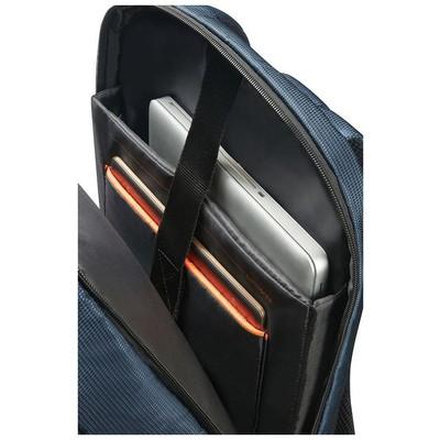"""Samsonite 16n-01-005 16n-01-005 15.6"""" Qibyte Notebook Sırt Çantası Mavi Laptop Çantası"""