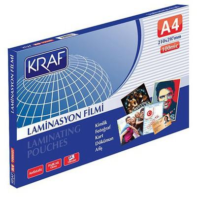 kraf-100-micron-a4-parlak-laminasyon-filmi-100-lu