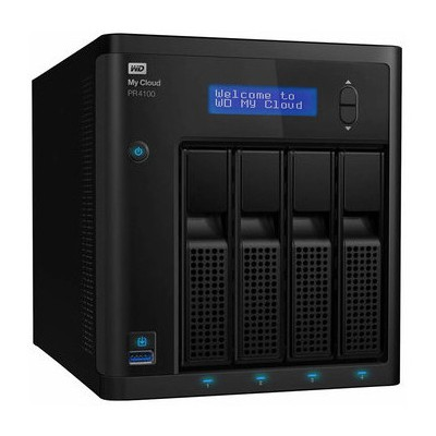 WD My Cloud Pro PR4100 8TB NAS - WDBNFA0080KBK