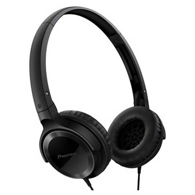 Pioneer SE-MJ502-K Kulaküstü Kulaklık - Siyah