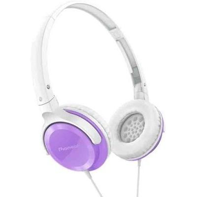 Pioneer SE-MJ502-V Mor Kafa Bantlı Kulaklık