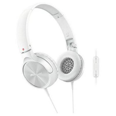 Pioneer SE-MJ522T-W Beyaz Kafa Bantlı Kulaklık Kulak İçi Kulaklık