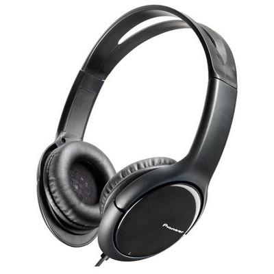 Pioneer SE-MJ711-K Siyah Kafa Bantlı Kulaklık
