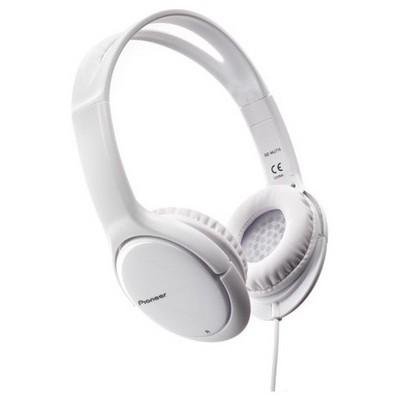Pioneer SE-MJ711-W Beyaz Kafa Bantlı Kulaklık
