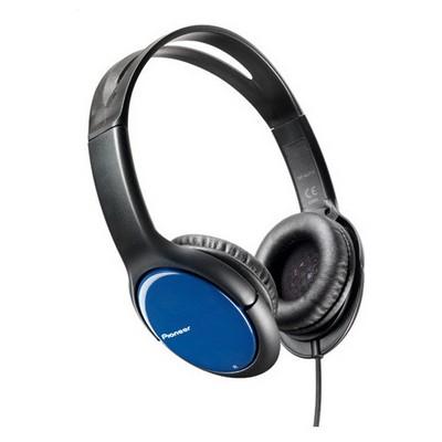 Pioneer SE-MJ711-L Mavi Kafa Bantlı Kulaklık