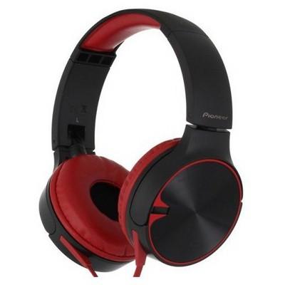 Pioneer SE-MJ722T-R Kırmızı Kafa Bantlı Kulaklık Kulak İçi Kulaklık