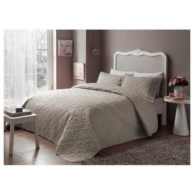 Taç Tek Kişilik Yatak Örtüsü - Grisel Taş Ev Tekstili