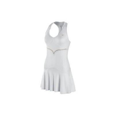 Nike 28997 425915-100 Tennis Dress Border Black Elbise 425915-100