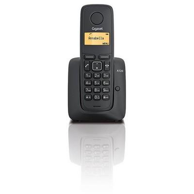 Gigaset A120 Dect Telefon Siyah - Outlet