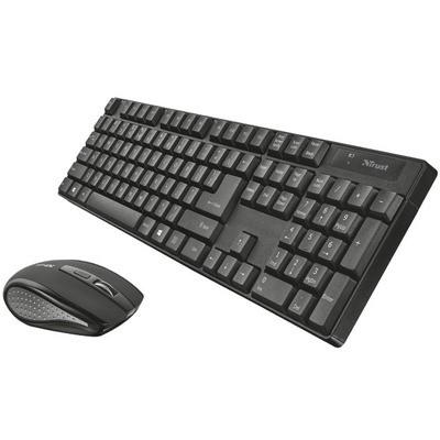 Trust Ximo Kablosuz Klavye ve Mouse Seti (21505)