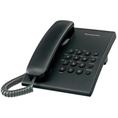 Panasonic KX-TS500 Masaüstü Telefon Siyah Kablolu Telefon