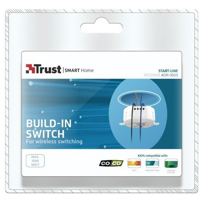 Trust 71015 Seitch Built-in Acm 1000nl Akım Korumalı Priz