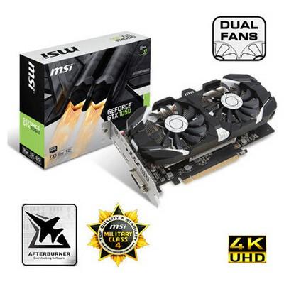 MSI Geforce Gtx 1050 2gt Oc - 2gb Gddr5 Ekran Kartı