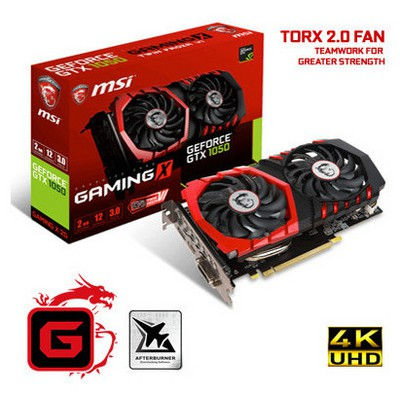 MSI Geforce Gtx 1050 Gaming X 2gb Gddr5 128bit