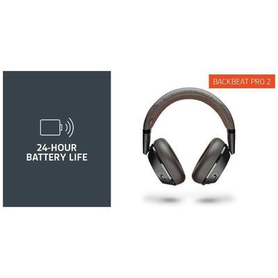 Plantronics 207110-05 BackBeat PRO2 Kablosuz+Kablolu Kulaklık Black Tan