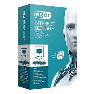 Eset 8697690850675 Internet Security V10 1 Kullanıcı Kutu