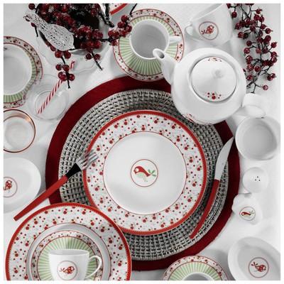 Kütahya Porselen 9383 33 Parça Desen Kahvaltı Takımı