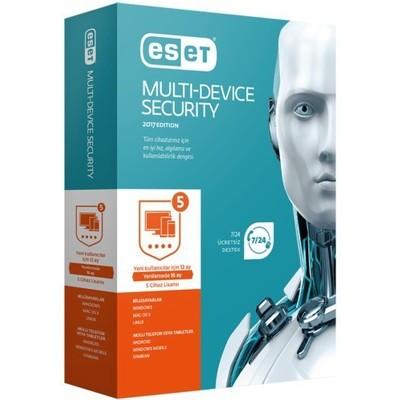 Eset 8697690850767 Multi-device Security V10 5 Kullanıcı Kutu