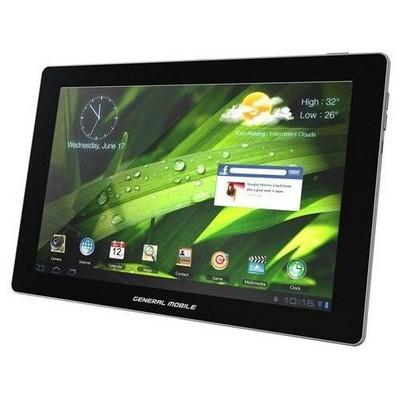 """General Mobile E-Tab 4 10.1"""" wifi Tablet Beyaz (Telpa Garantili) - Outlet"""