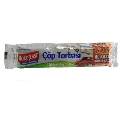 Koroplast Çöp Poşeti Premium Battal Boy 72 X 95 Cm 1 Koli 10 Adet