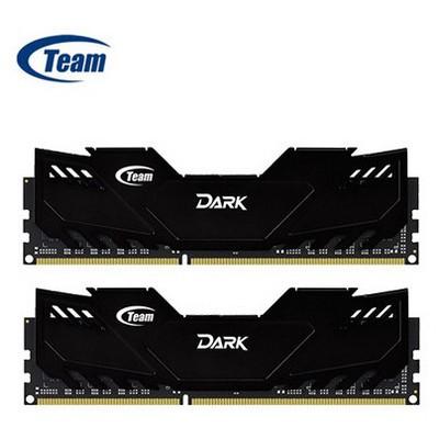 Team Dark (tm3d240082blk) 16gb, (2x8gb) Ddr3-2400mhz, Cl11, (soğutuculu) Bellek