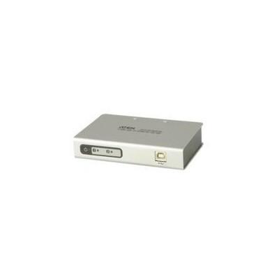 Aten Uc2322-at Uc2322-at 2 Port Usb To Serial Rs-232 Hub