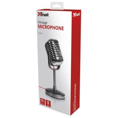 Trust 21670 Elvii Vintage Masaüstü Mikrofon