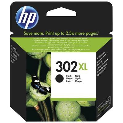 HP F6u68ae (302xl) Siyah Yüksek 0li Mürekkep Kartuşu 480 Sayfa