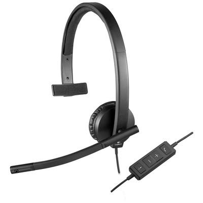 Logitech H570e Mono Usb Headset 981-000571
