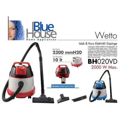Blue House Bluehouse Bh020vd Wetto Islak Kuru Elektrikli Süpürge
