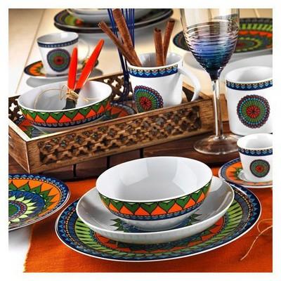 Kütahya Porselen 8982 Desen 24 Parça Yemek Seti - Outlet