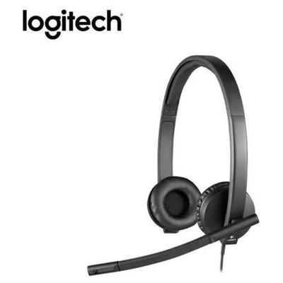 Logitech H570e Stereo Usb Headset 981-000575 Kafa Bantlı Kulaklık