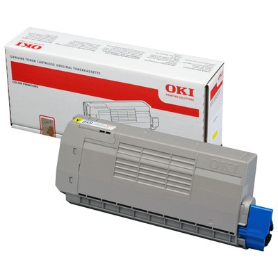 OKI 44318617 Sarı Toner - 10000 Sayfa
