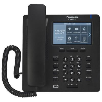 Panasonic KX-HDV330 Masüstü IP Telefon - Siyah
